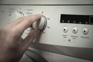 Die Federbettenreinigung und die Waschmaschine