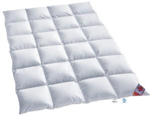 Bettdecke 200x220 - Warmes Winter Daunen Kassettenstegbett Daunendecke 100 Prozent Natur Daunenbett