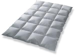 Federbetten Daunendecke Bettdecke Kassettenbett gefüllt mit Daunen Garantiert kein Lebendrupf NEU&OVP